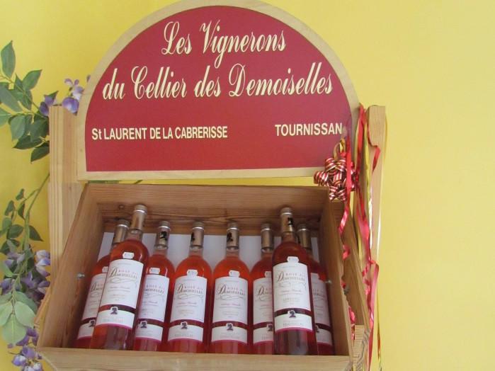bouteilles de vin les vignerons de cellier des demoiselles-notre boutique-saint laurent auto-aude